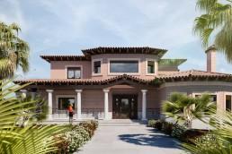 Fachada vivienda en Lominchar, Toledo - arquitectura y construcción mrdos proyectos las rozas madrid