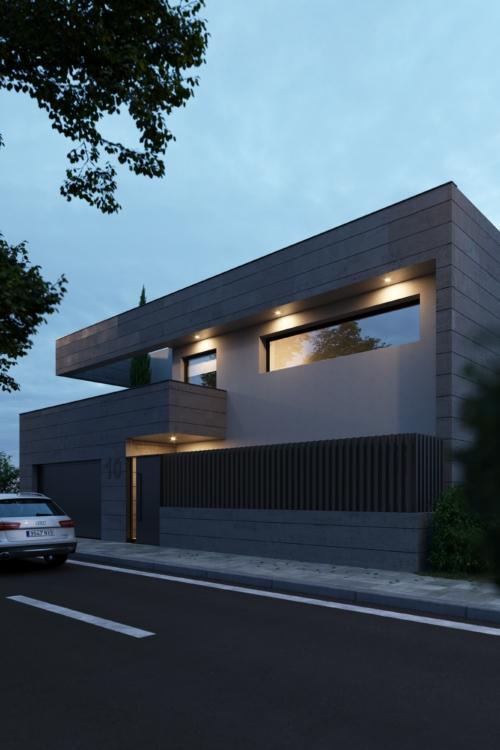 Proyecto de Vivienda en Lominchar por mrdos arquitecto Toledo