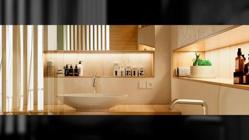 baño bloque de viviendas en Illescas (horizontal