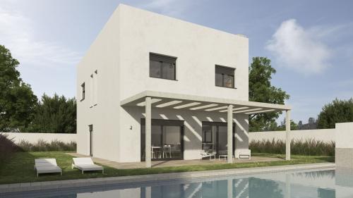 Vivienda en Palomeque III piscina