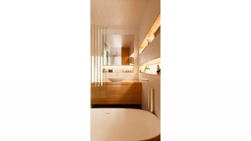 baño bloque viviendas illescas vertical